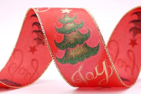 """""""जॉय"""" क्रिसमस ट्री प्रिंट रिबन"""