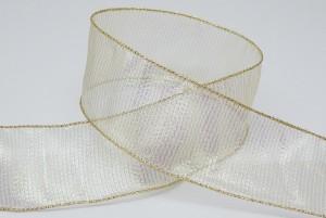 Iridescent Sheer Organza Fabric Ribbon - Iridescent Sheer Organza Fabric Ribbon