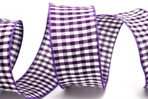 Gingham Fabric Ribbon - Gingham Fabric Ribbon