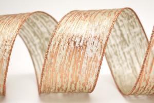 Foil Print Crinkled Mesh Ribbon - Foil Print Crinkled Mesh Ribbon