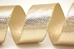 Metallic Fabric Ribbon - Metallic Fabric Ribbon