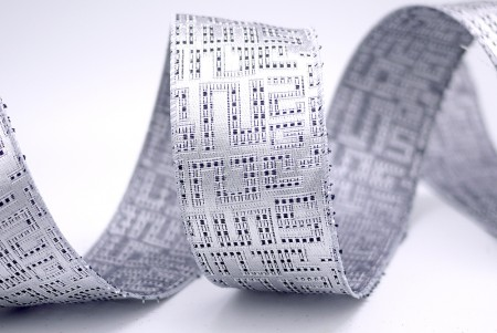 Maze Jacquard Fabric Ribbon