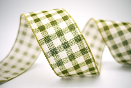 Gingham Cotton Ribbon - Gingham Cotton Ribbon
