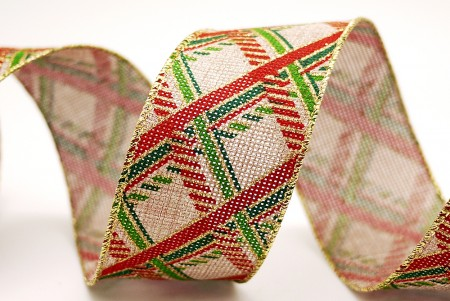 Print Plaid Ribbon - Print Plaid Ribbon