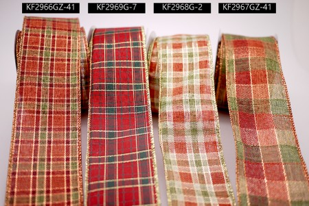 Various Plaid Ribbons - Various Plaid Ribbons