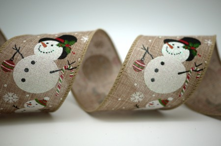 Parent and Child Snowman Ribbon - Parent and Child Snowman Ribbon