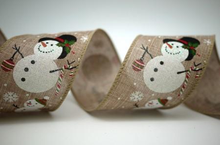 Parent and Child Snowman Ribbon - Parent and Child Snowman Ribbon
