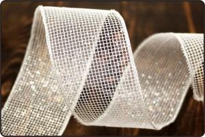 Glitter Net Mesh Ribbon - Glitter Net Mesh Ribbon