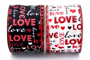 "Different Fonts of ""LOVE"" Wording Ribbon - Different Fonts of ""LOVE"" Wording Ribbon"