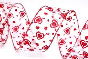 arrow through the heart valentine ribbon - Valentine Ribbon