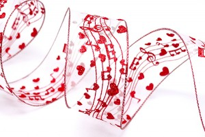 Musical Valentine Ribbon - Musical Valentine Ribbon