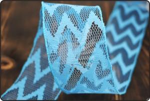 Lace Mesh Ribbon - Lace Mesh Ribbon(KF1200GC)