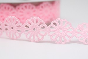 Full Blossom Flowers Die-cut Ribbon - Full Blossom Flowers Die-cut Ribbon