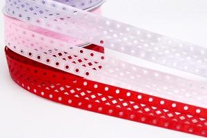 Geometric Die-cut Ribbon - Geometric Die-cut Ribbon
