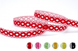 Reversible Checkered Die-cut Ribbon - Reversible Checkered Die-cut Ribbon