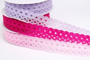 Geometric Cutouts Ribbon - Geometric Cutouts Ribbon