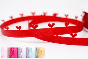 Diecut Hearts Ribbon - Diecut Hearts Ribbon