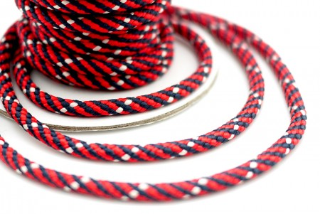Tricolored Braided Cord - Tricolored Braided Cord