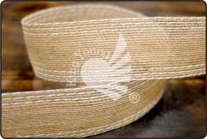 2-colored Jute Ribbon - 2-colored Jute Ribbon (K829-33)