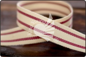 Stripe Cotton Ribbon - Stripe Cotton Ribbon (K919)