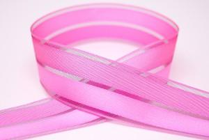 Satin & Sheer Combined Ribbon - Satin & Sheer Combined Ribbon