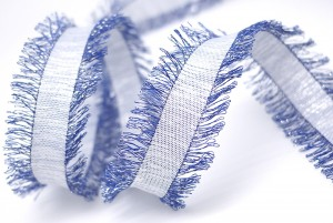 Two-Sides Fringed Ribbon - 2-kanten omzoomd lint