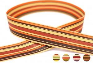 Earth Tone Stripe Ribbon - Earth Tone Stripe Ribbon