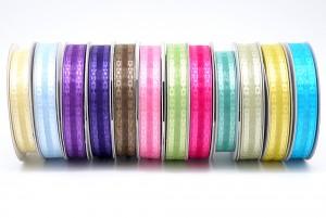 Jacquard Edge Organza Ribbon - Jacquard Edge Organza Ribbon