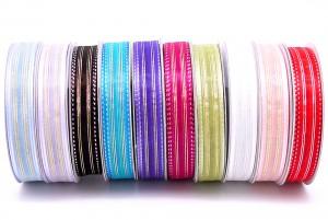 Stitching Metallic Organza Ribbon - Stitching Metallic Organza Ribbon