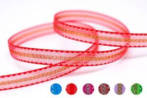 Metallic Center Sheer Ribbon - Metallic Center Sheer Ribbon
