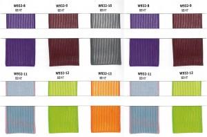 Polyester stevig en tweekleurig streeplint - Polyester stevig en tweekleurig streeplint