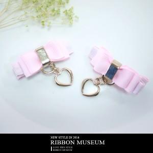 Grosgrain Ribbon Bow Hair Clip - Grosgrain Ribbon Bow Hair Clip