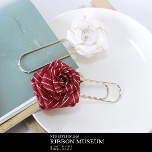 Ribbon Rose Memo Binder