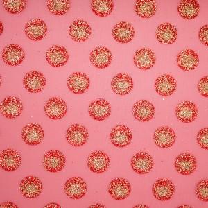 Glitter Polka Dots Organza szövet - Glitter Polka Dots Organza szövet
