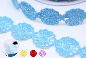Peel and Stick Flower Ribbon - Peel and Stick Flower Ribbon