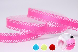 Peel and Stick Cutout Scallop Edge Ribbon - Peel and Stick Cutout Scallop Edge Ribbon