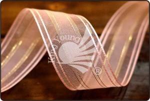 Satin-stitching Edge Organza Fancy Ribbon - Satin-stitching Edge Organza Fancy Ribbon