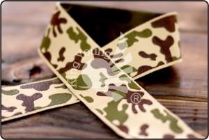 Camouflage Jacquard Ribbon - Camouflage Jacquard Ribbon
