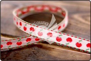 Cherry Jacquard Ribbon - Cherry Jacquard Ribbon