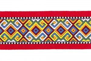 Товстий жаккардову стрічку на народному стилі - Товстий жаккардову стрічку на народному стилі
