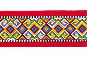 Thick Folk Style Jacquard Ribbon - Thick Folk Style Jacquard Ribbon