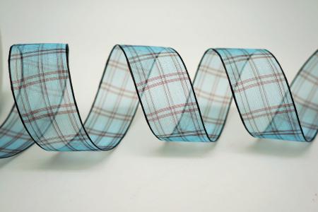 Sheer Plaid Ribbon - Sheer Plaid Ribbon