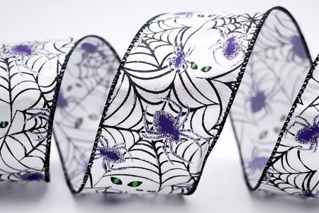 Spider Halloween Metallic Ribbon - Spider Halloween Metallic Ribbon