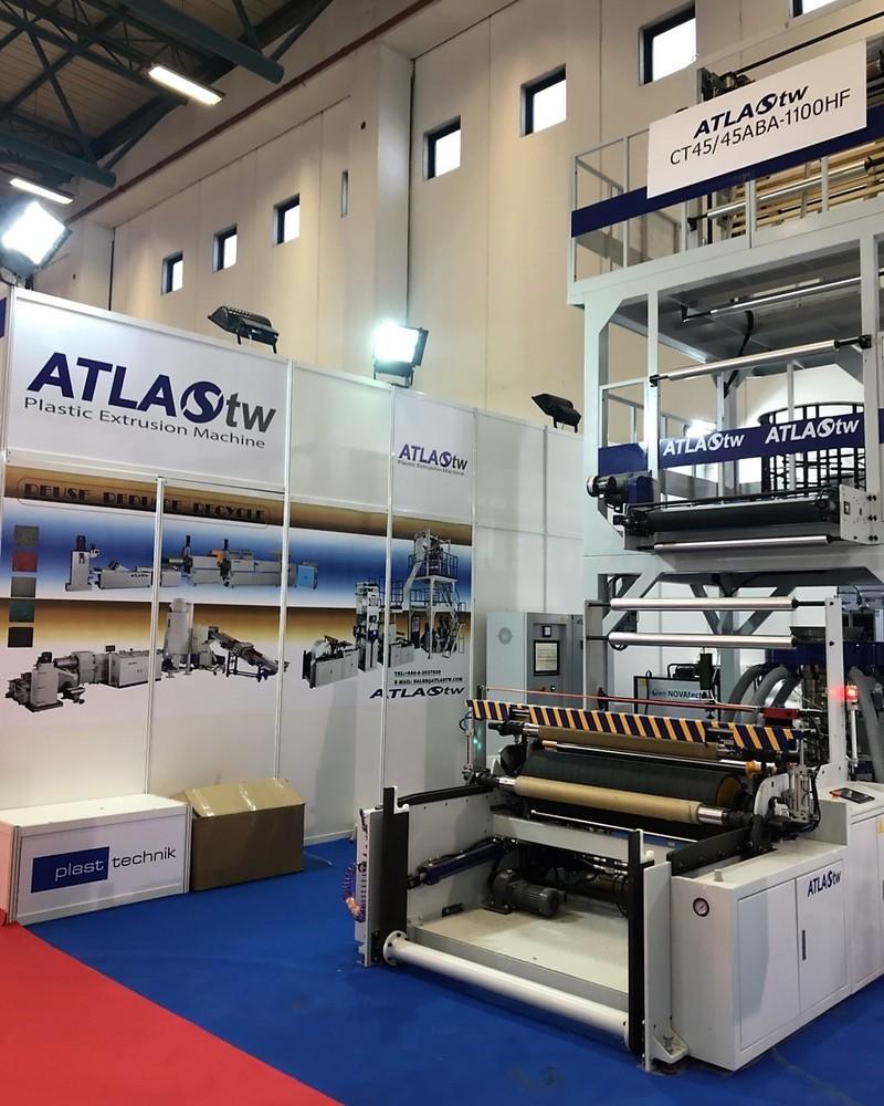 ATLAS in Plast Eurasia İstanbul 2017