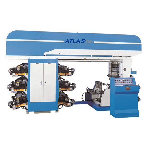 6 Colors Flexographic Printing Machine (Off-Line)