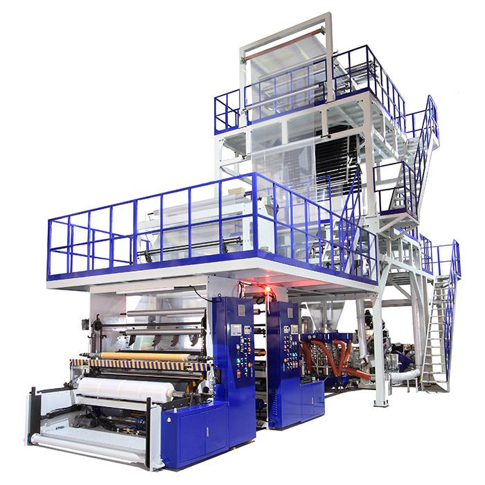 Oscillating Tower Multi-layer Blown Film Machine