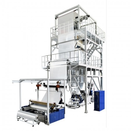 Heavy-Duty Blown Film Machine with Oscillating Haul-off Unit - Heavy-Duty Blown Film Machine with Oscillating Haul-off Unit