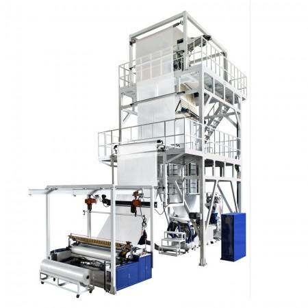 Oscillating Haul-off Film Blowing Machine - HR Series Blown Film Machine