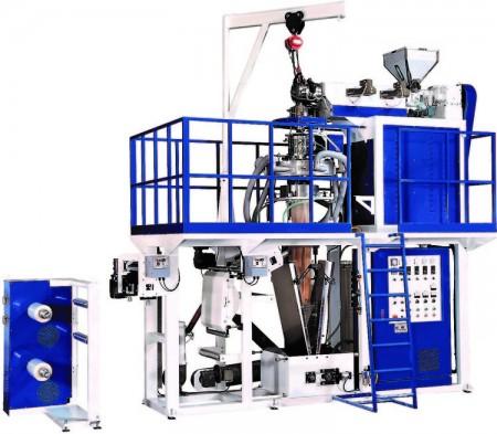PP Series Blown Film Machine - PP Series High Speed PP Blown Film Machine