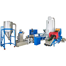 WPF side screw feeder Recycling Machine